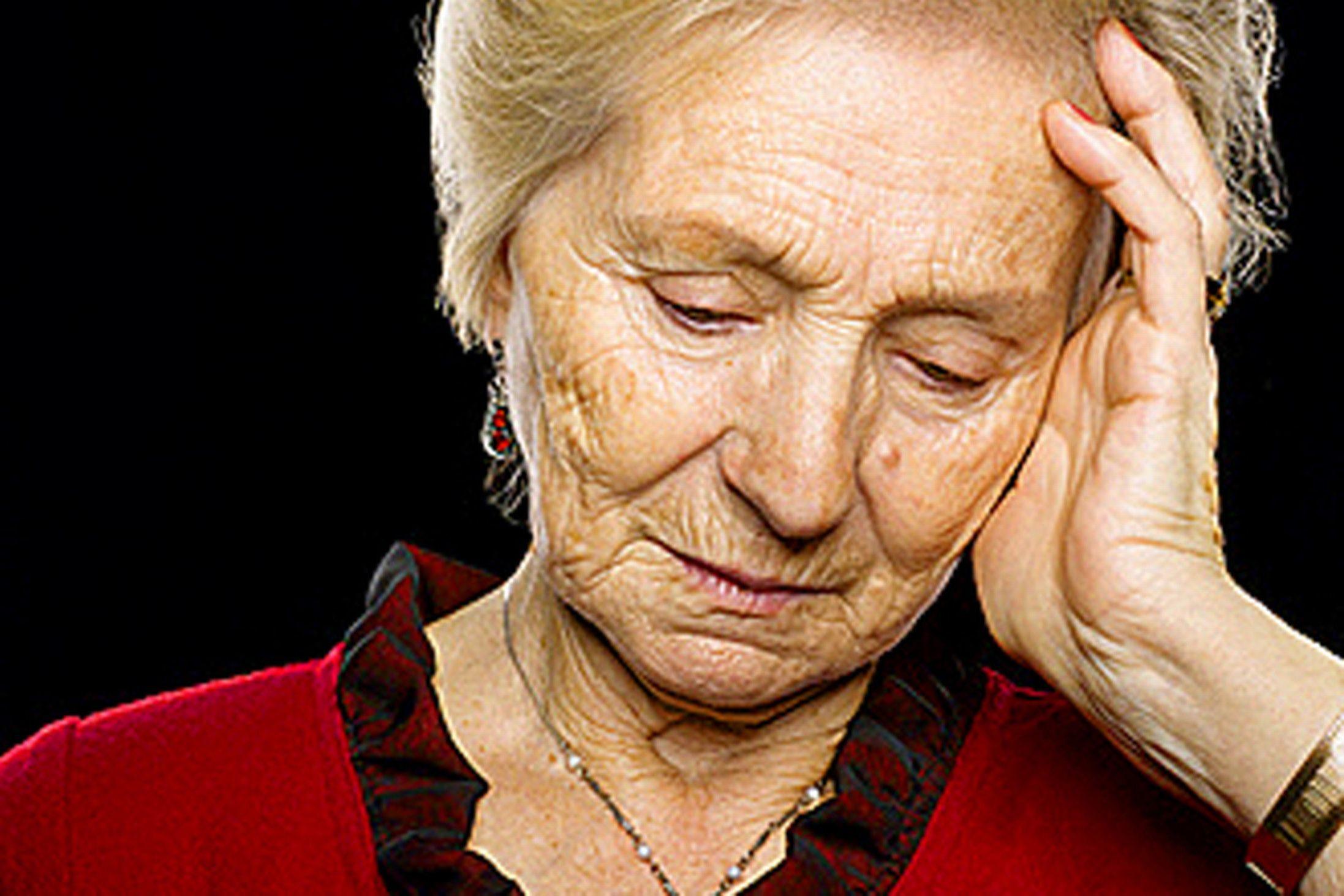 Resultado de imagen para depresión en el adulto mayor